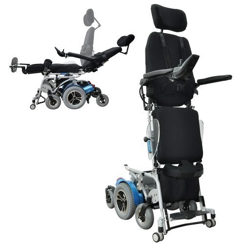 Draco Folding Power Wheelchair