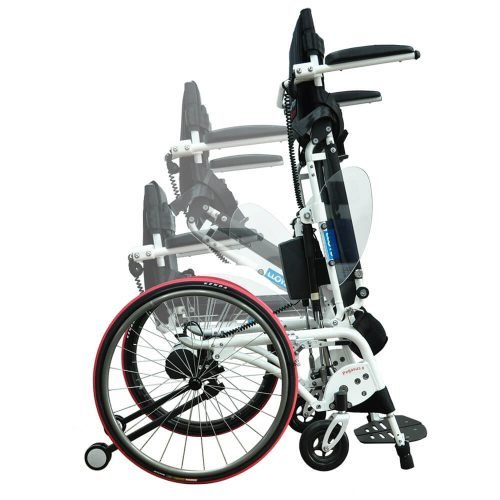 Semi-Electric Standing Wheelchair