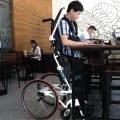 Pegasus II Semi-Power Standing Wheelchair