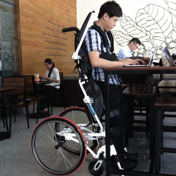 Pegasus II Semi-Power Standing Wheelchair