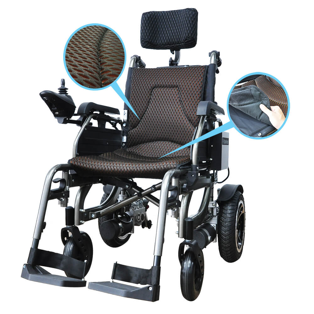 PW-777PL Reclinable Power Wheelchair