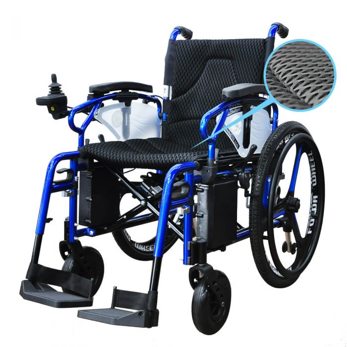 PW-800AX Foldable Power Wheelchair