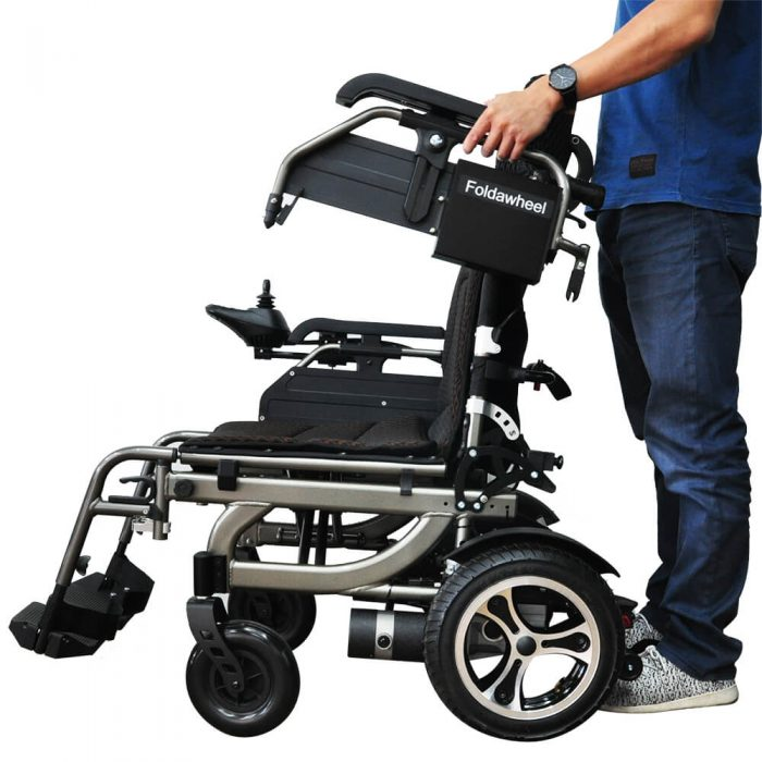 PW-777PL Reclining Power Wheelchair